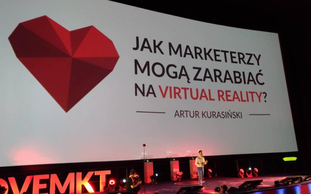 Jak marketerzy mogą zarabiać na VR?
