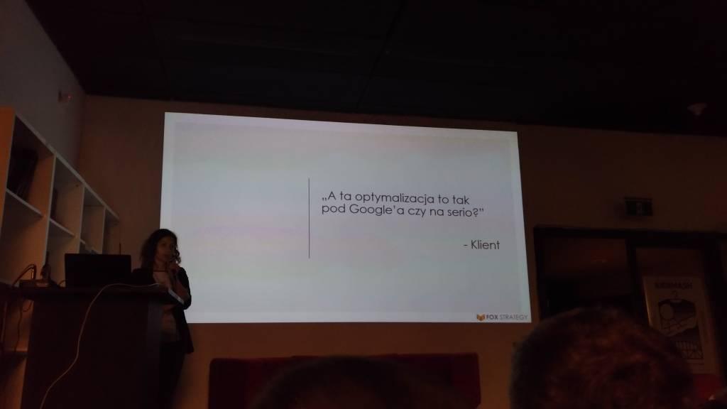 Optymalizacja kart produktów w sklepie internetowym nie tylko pod SEO – Katarzyna Baranowska – SemKRK #5