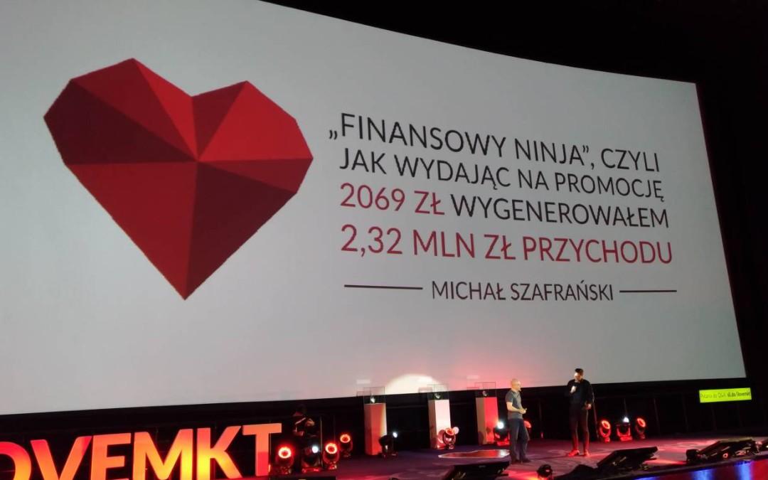 """Finansowy ninja"""", czyli jak wydając na promocję 2069 zł, wygenerowałem 1,65 mln zł przychodu w 5 miesięcy"""