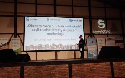 Obcokrajowcy o polskich miastach, czyli trudne tematy w content marketingu – jak uniknąć hejtu i zdobyć naturalne linki – CASE STUDY – Piotr Mikulski