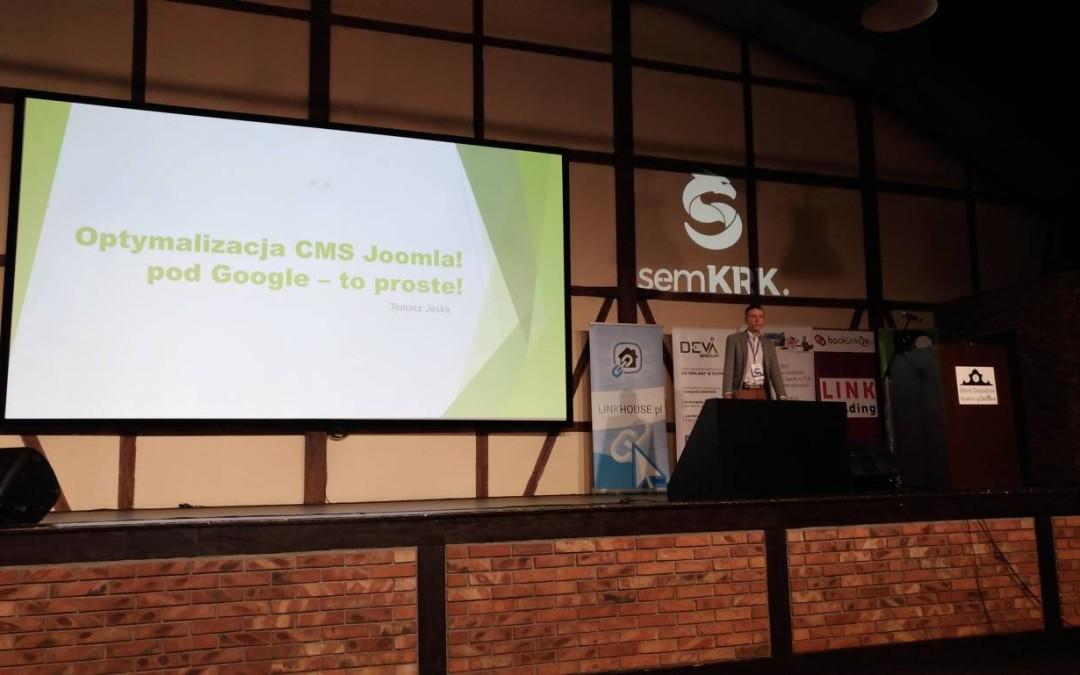 Optymalizacja CMS Joomla! pod Google – to proste – Tomasz Jeska