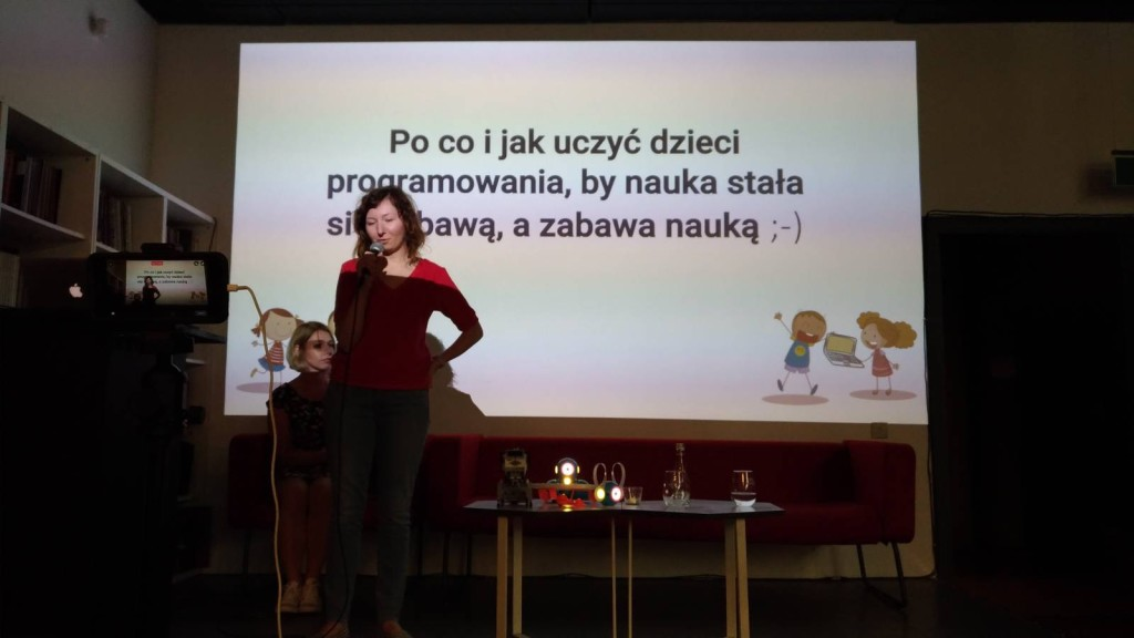 Anna Szwiec i Marzena Milanowska na TechKlub Kraków