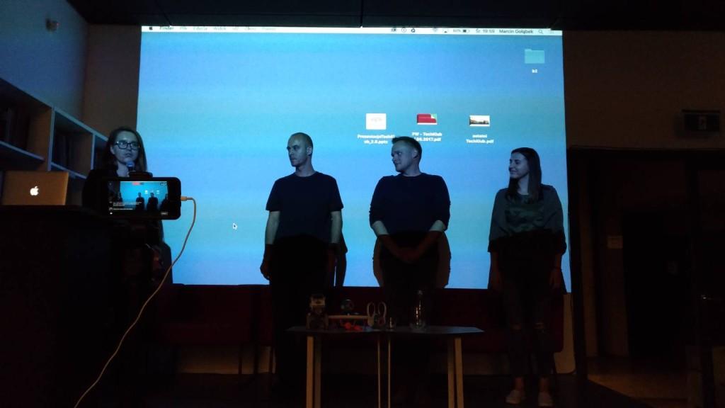 TechKlub Kraków - pożegnanie i podziękowania dla organizatorów
